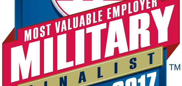 RecruitMilitary Recognizes Greencastle Consulting as a 2017 Most Valuable Employers (MVE) for Military® Finalist