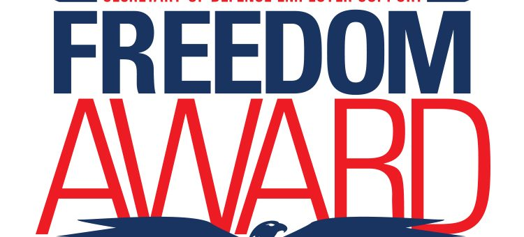 The Secretary of Defense Employer Support Freedom Award