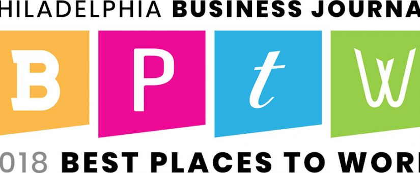 Greencastle Selected as one of Philadelphia's Best Places to Work for 2018!