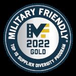 Military Friendly Top 10 Supplier Diversity Program.